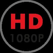 Caméra avec vidéo HD, grande qualité d'image